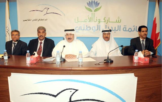 «المنبر التقدمي» أعلنت عن خوضها الانتخابات النيابية والبلدية بأربعة مرشحين            (تصوير: محمد المخرق)