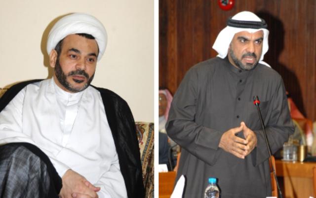 النائب محمد المزعل - الشيخ محمد حبيب المقداد
