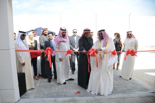 خلال افتتاح مشروع «جيون»      (تصوير: أحمد آل حيدر)