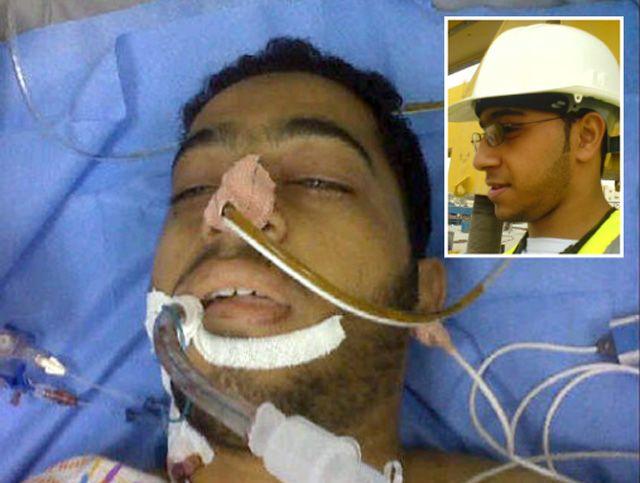 المهندس علي  أحمد المؤمن (22 عاماً)  من سترة  وقد كانت آخر مشاركة له في صفحة الـ(الفيس بوك): «دمي فداء لوطني»
