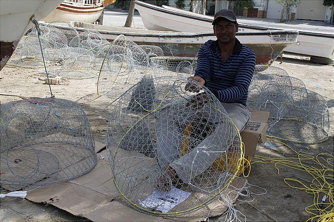 صناعة القراقير صناعة مصائد الأسماك