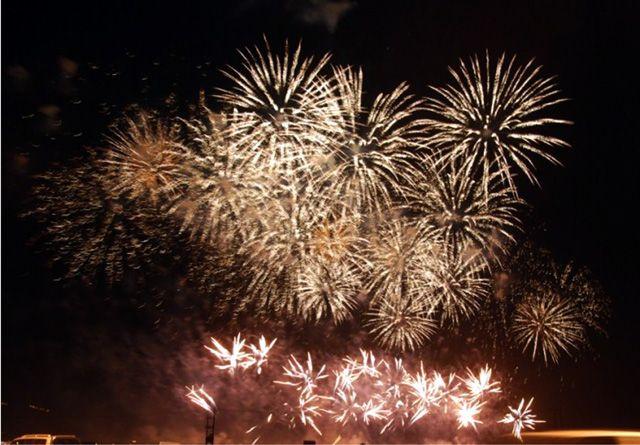 عروض الألعاب النارية الذي نظمتها «البلديات