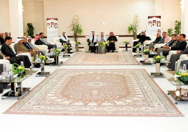 حميدان لدى حضوره افتتاح المجلس الشهري الأول لوزارة العمل بحضور كبار المسئولين