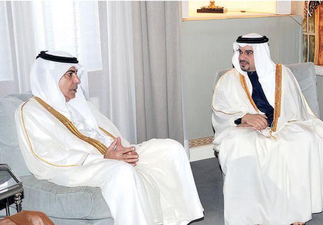 سمو ولي العهد مستقبلاً رئيس الجمعية العامة للأمم المتحدة ناصر عبدالعزيز النصر
