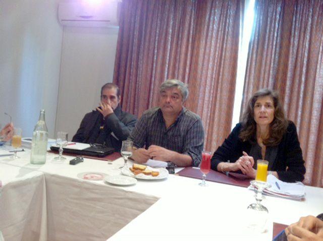 المؤتمر الصحافي لإطلاق التقرير بشأن البحرين في تونس