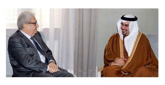 بسيوني التقى أمس ولي العهد ونائب رئيس الوزراء ووزير الداخلية