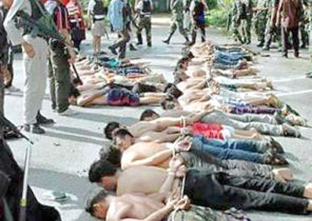 الوحشية الدموية هي الصورة الأوضح للنيل من المسلمين