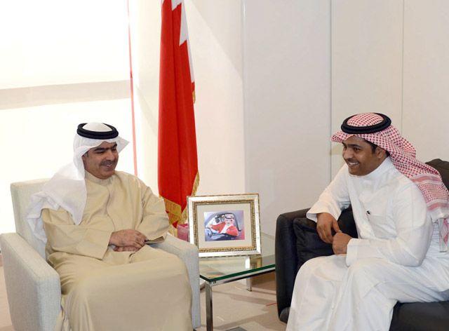 الشيخ فواز يؤكد دعم الحكومة للشركات والمؤسسات - بنا