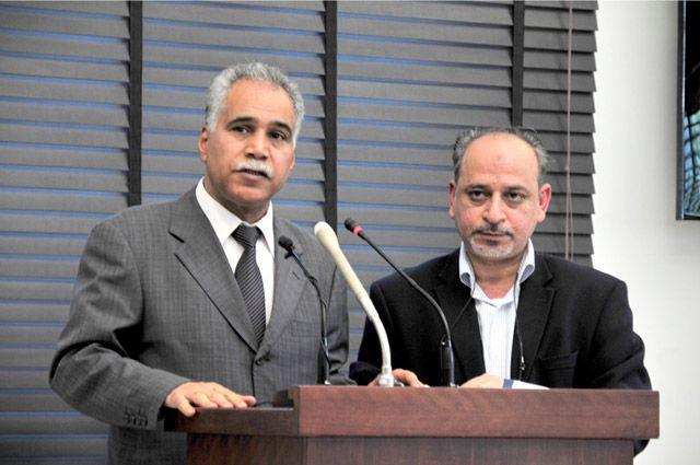 المؤتمر الصحافي الذي عقدته الجمعيات السياسية المعارضة أمس