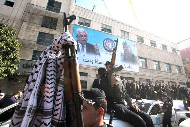 احتفالات «فتح» بالذكرى الـ 48 لانطلاقتها - AFP