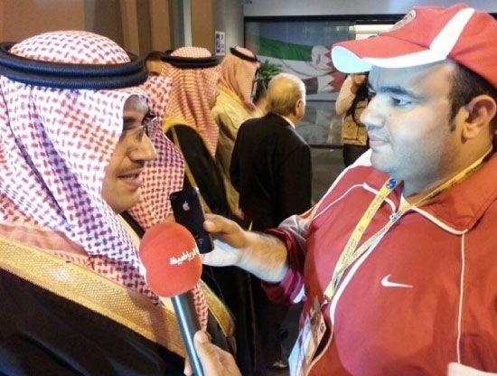 نواف بن فيصل يتحدث لـ «الوسط الرياضي»