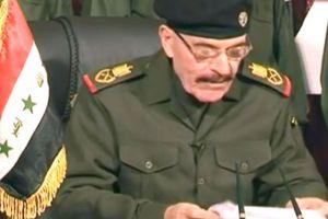 عزة الدوري يؤيد المحتجين السنّة بالعراق