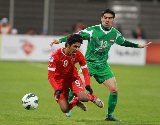 من لقاء البحرين والعراق