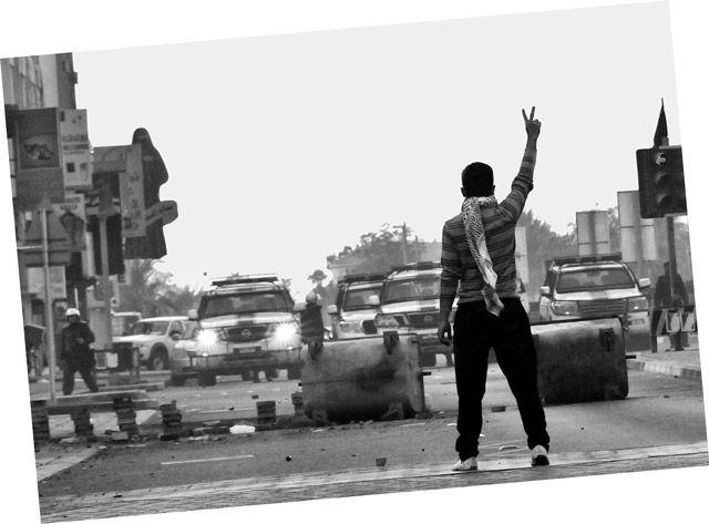 صورة «الشجاعة» التي التقطها حميدان وحقق بها 18 جائزة عالمية