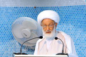 قاسم: حلّ أزمة البحرين يتطلب صيغة إصلاحية جادة تنال موافقة الشعب