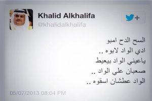 وزير الخارجية يشعل «تويتر» مجدداً على «الواد إلي بيعيط»