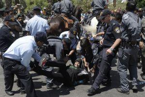 تظاهرات في المدن العربية في إسرائيل احتجاجاً  على خطة مصادرة أراضي بدو النقب