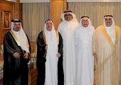 معالي وزير الخارجية يلتقي رؤوساء ومدراء تحرير الصحف المحلية