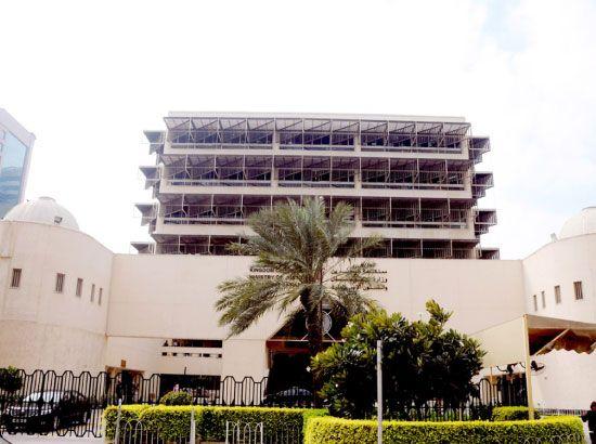 مبنى وزارة العدل والشئون الإسلامية