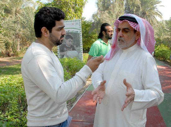 وكيل وزارة البلديات لشئون الزراعة والثروة البحرية الشيخ خليفة بن عيسى آل خليفة متحدثاً إلى «الوسط»