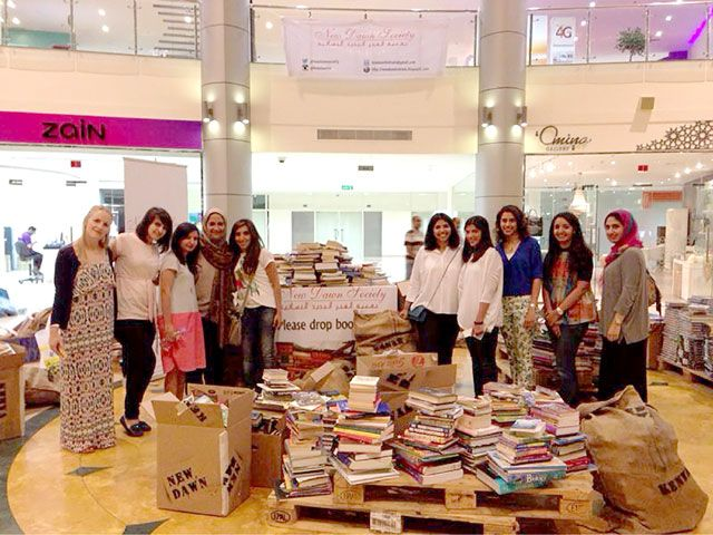 حملة التبرع بالكتب المستعملة تمكنت من جمع أكثر من 5 آلاف كتاب لمساعدة أطفال كينيا