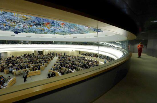 الجلسة الافتتاحية لدورة 26<br />لمجلس حقوق الإنسان في جنيف -<br />REUTERS