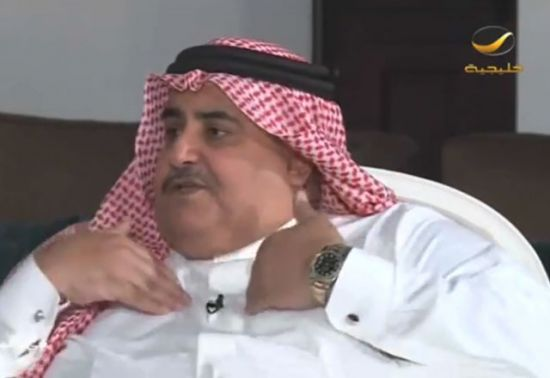 وزير الخارجية لـ «روتانا<br />خليجية»: غير مسموح لا<br />للولايات المتحدة أو طهران<br />التدخل في الشأن البحريني<br />الداخلي