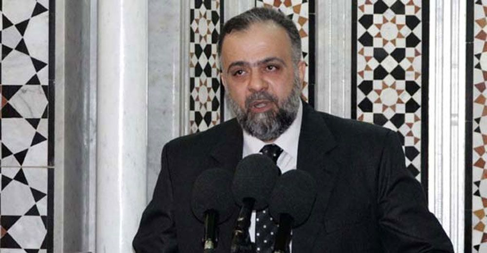 وزير الأوقاف في حكومة تسيير الأعمال السورية محمد عبد الستار