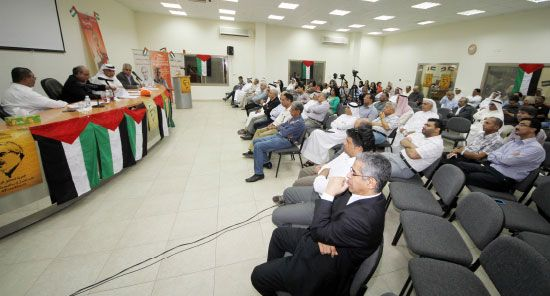 ندوة المعارضة في «وعد» بمناسبة ذكرى استقلال البحرين - تصوير محمد المخرق