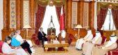 البحرين تبحث المشاركة بسلاح الجو الملكي في الحملة العالمية ضد «الإرهاب»