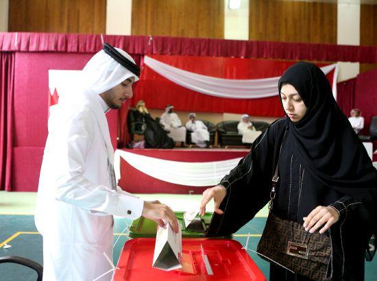 حراك نشط للمشاركة في الاقتراع بالدائرة الخامسة بالمحافظة الجنوبية - تصوير عبدالله حسن