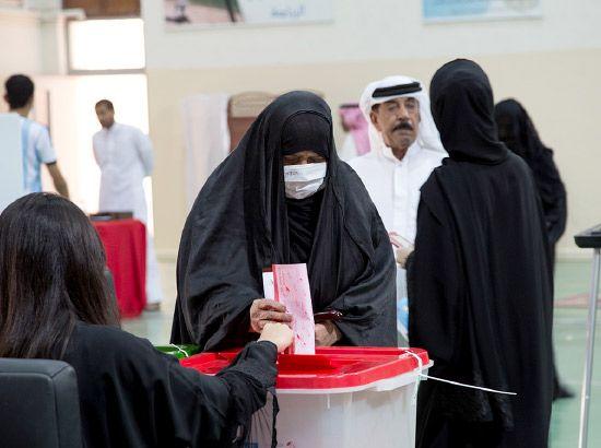 عملية الاقتراع في الدائرة السابعة في المحافظة الجنوبية - تصوير محمد سلمان