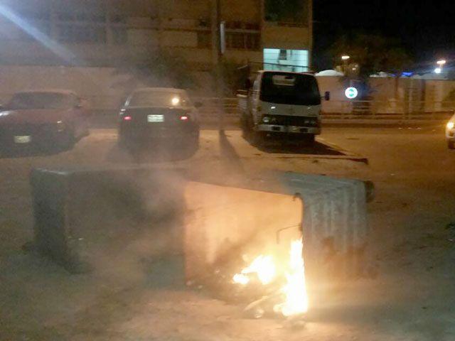 «التربية»: إضرام النيران في حاوية عند مدرسة النعيم الثانوية للبنين