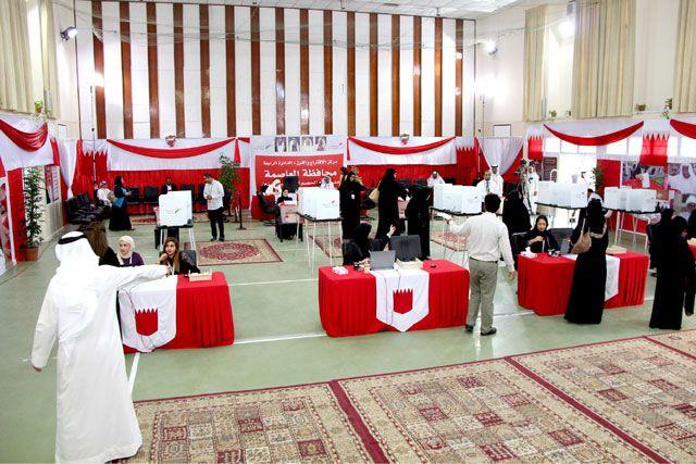 مركز الاقتراع الخاص بالدائرة الرابعة بمحافظة العاصمة - تصوير : محسن العرادي