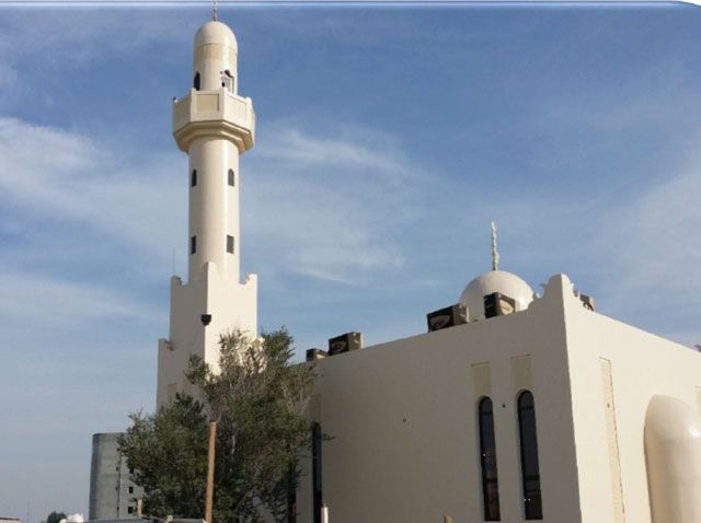 مسجد عين رستان بقرية عالي