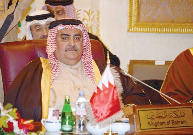 وزير الخارجية لدى حضوره الاجتماع الوزاري الخليجي في الرياض أمس