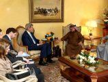 الملك مستقبلاً كيري: العلاقات البحرينية - الأميركية تميزت عبر تاريخها بالثقة