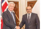 ولي العهد: العلاقات البحرينية البريطانية نموذج للعلاقات العريقة