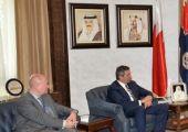خلال استقبال معاليه الممثل الخاص لحقوق الإنسان بالاتحاد الأوروبي معالي وزير الداخلية: البحرين مجتمع واحد ومنفتح ويتم تطبيق القانون على الجميع