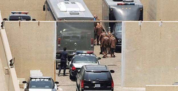 إجراءات أمنية مشددة في محيط قصر العدل