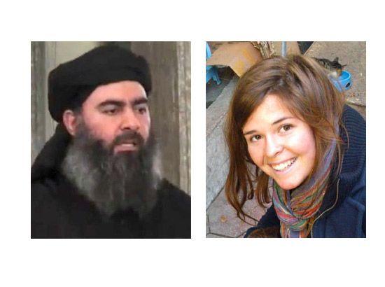 كايلا مولر - أبو بكر البغدادي
