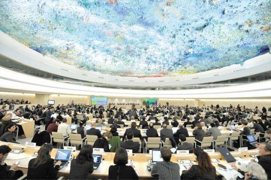 البيان المشترك دعا أمام<br />مجلس حقوق الإنسان إلى<br />استئناف الحوار الشامل<br />والمفتوح في البحرين