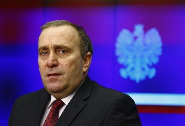 وزير الخارجية البولندي جريجور سختينا
