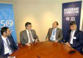 رئيس الوزراء يوجه كلمة، يلقيها الشيخ حسام، خلال احتفال الاتحاد الدولي للاتصالات في نيويورك
