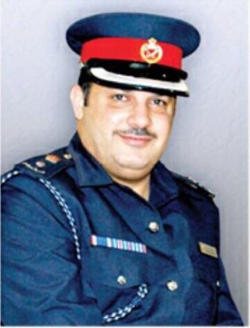 مدير إدارة الشئون القانونية بوزارة الداخلية المقدم راشد محمد بونجمة