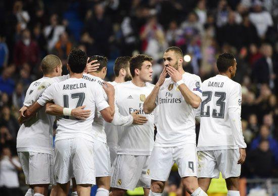 ريال مدريد قدم أداء رائعا أمام مالمو   - afp