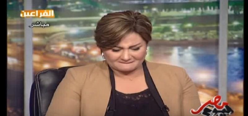 حياة الدرديري تبكي في برنامجها