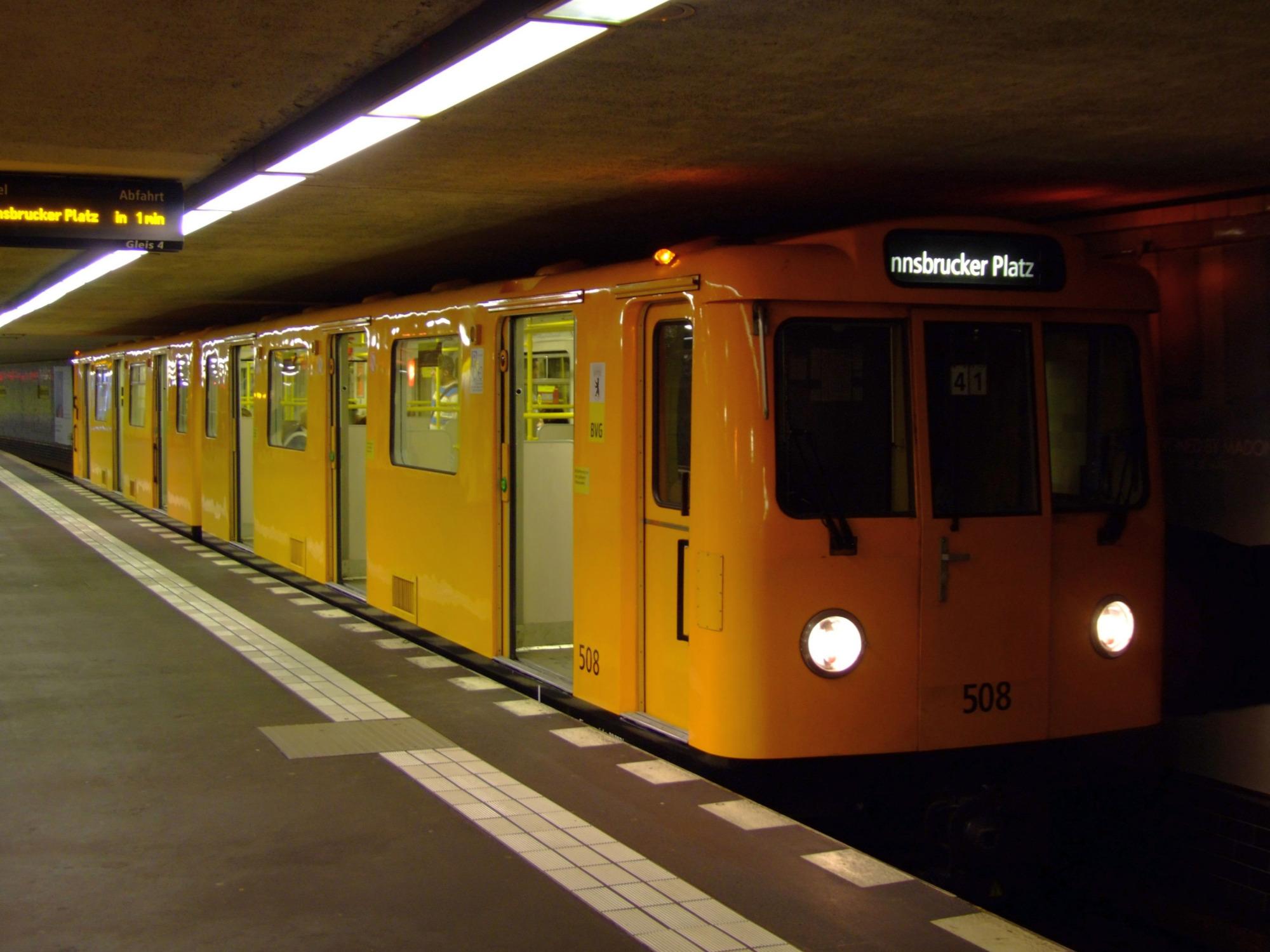 مترو برلين  (أرشيفية)