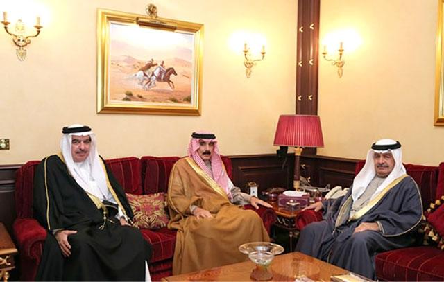 نائب رئيس مجلس الوزراء مستقبلاً مدير عام مؤسسة جسر الملك فهد