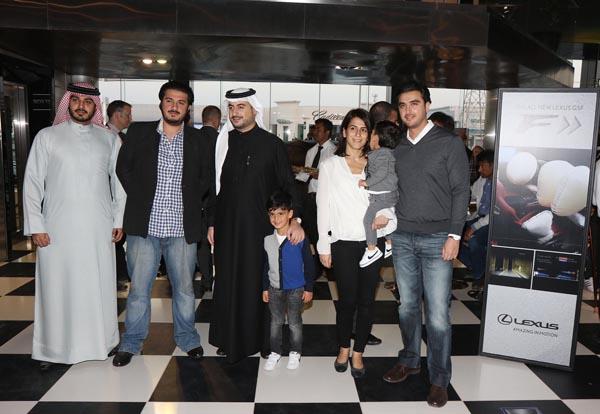 إداريو إبراهيم خليل كانو وكبار مهندسي لكزس يكشفون عن لكزس GS F الجديدة في البحرين